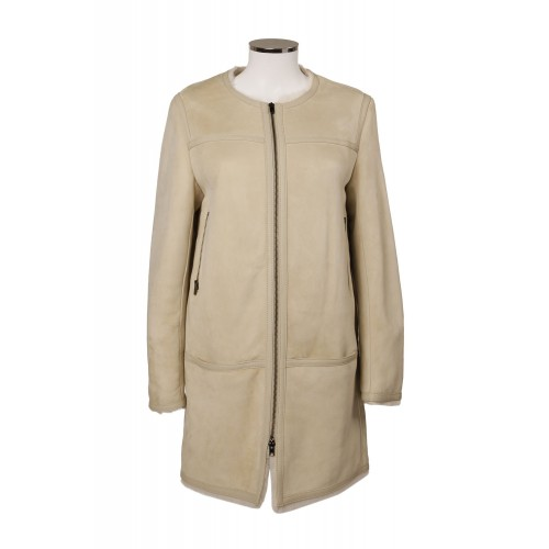 MUTTON COAT WITH FRONT ZIP CLOSURE ISABEL MARANT