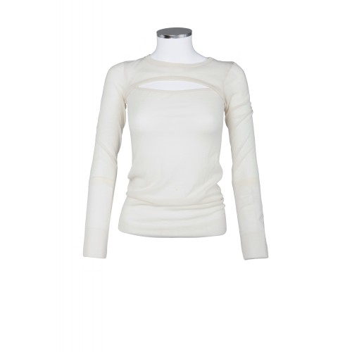 CASHMERE SWEATER WITH OPENING ABOVE THE DECOLLETE ISABEL MARANT