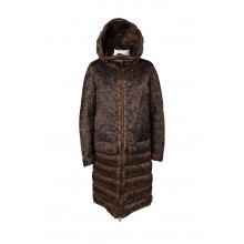 LONG CAMEO JACKET HOODED MONCLER