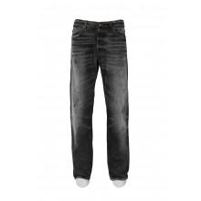 WASHED JEANS DARK GREY COLOR GOLDEN GOOSE